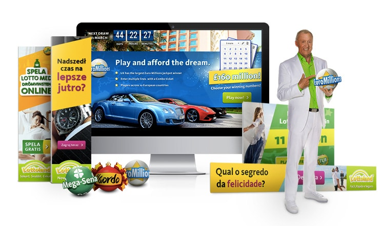 Banner ads production for Lottoland